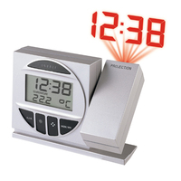 Technoline Radio Controlled Alarm Clock with Projection (Silber)