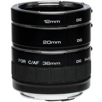 Kenko DG Ext. Tube Set Canon EF-S (Schwarz)