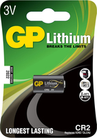 GP Batteries Lithium CR-2 (Schwarz)