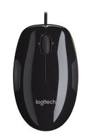 Logitech M150 USB Laser Ambidextrös Schwarz, Gelb Maus (Schwarz, Gelb)