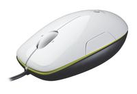 Logitech M150 USB Laser Ambidextrös Schwarz, Grün, Weiß Maus (Schwarz, Grün, Weiß)
