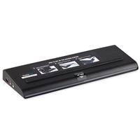 Targus Universal USB 3.0 DV2K Docking Station mit Ladegerät (Schwarz)