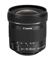 Canon EF-S 10-18 f/4.5-5.6 IS STM (Schwarz)