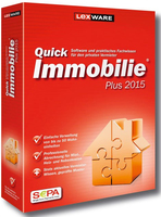 Lexware QuickImmobilie Plus 2015, PC, DE