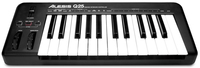 Alesis Q25 MIDI Tastatur (Schwarz)
