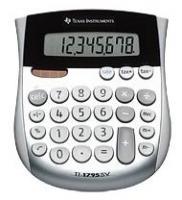 Texas Instruments TI-1795 SV (Schwarz, Silber)