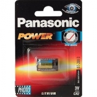 Panasonic Photo Lithium Battery CR-2