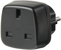 Brennenstuhl Travel Adapter GB/earthed (Schwarz)