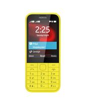 """Nokia 225 Dual SIM 2.8"""" 100.6g Gelb (Gelb)"""