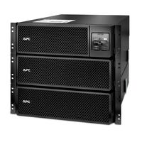 APC SRT8KRMXLI Unterbrechungsfreie Stromversorgung UPS (Schwarz)