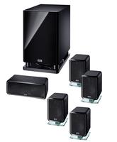 Heco Ambient 5.1 A 5.1Kanäle 120W Schwarz Lautsprecherset (Schwarz)