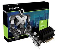 PNY GF730GT1GEPB NVIDIA GeForce GT 730 1GB Grafikkarte (Schwarz)