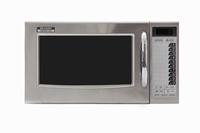Sharp Home Appliances R-15AT Arbeitsfläche Solo-Mikrowelle 28l 1000W Edelstahl Mikrowelle (Edelstahl)