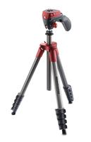 Manfrotto MKCOMPACTACN-RD Digitale Film/Kameras Rot Stativ (Rot)