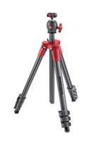 Manfrotto MKCOMPACTLT-RD Digitale Film/Kameras Anthrazit, Rot Stativ (Anthrazit, Rot)