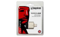 Kingston Technology MobileLite G4 (Schwarz, Grau)