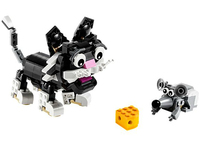 Lego Furry Creatures (Mehrfarbig)