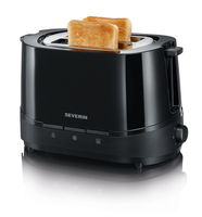 Severin AT 2291 Toaster (Schwarz)