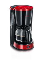 Severin KA 4492 Kaffeemaschine (Schwarz, Metallisch, Rot)