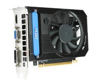 MSI N730K-2GD3/OC GPU Grafikprozessorenfamilie GeForce GT 730 - 2GB (Schwarz)