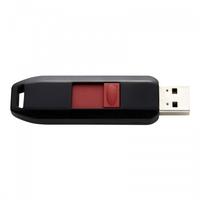 Intenso 16GB USB2.0 16GB USB 2.0 Schwarz, Rot USB-Stick (Schwarz, Rot)