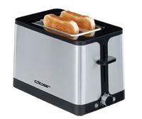 Cloer 3609 Toaster (Schwarz, Edelstahl)