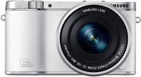 Samsung NX 3000 + 16-50mm F3.5-5.6 ED OIS + SEF-8A (Weiß)