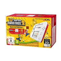 Nintendo 2DS + New Super Mario Bos.2 (Weiß)