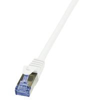 LogiLink 7.5m Cat.6A 10G S/FTP (Weiß)