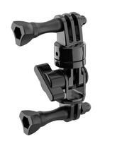 SP-Gadgets 53060 Universal Kamerahalterung Zubehör für Actionkameras (Schwarz)