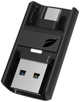 Leef Bridge 3.0, 64GB 64GB USB 3.0 Schwarz USB-Stick (Schwarz)