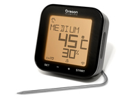 Oregon Scientific AW133 Essensthermometer (Schwarz, Grau)
