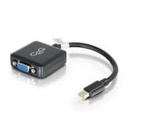 C2G 20cm Mini DisplayPort M / VGA F (Schwarz)