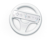 Nintendo Wii Wheel (Weiß)