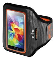 SBS TEARMACCELXLO Handy-Schutzhülle (Schwarz, Orange)