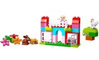Lego Duplo Lese- und Bauspaß - 10571 Große Steinebox Mädchen (Mehrfarbig)
