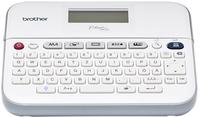 Brother PT-D400VP Wärmeübertragung 180 x 180DPI Grau, Weiß Etikettendrucker (Grau, Weiß)
