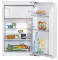 Amica EKS 16181 Kombi-Kühlschrank (Weiß)