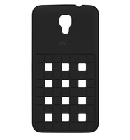 Wiko 92310 Handy-Schutzhülle (Schwarz)
