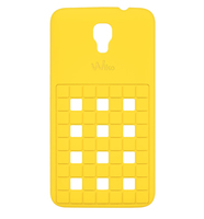 Wiko 92360 Handy-Schutzhülle (Gelb)