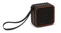 Bigben Interactive Waterproof Mono 3W Schwarz (Schwarz, Orange)
