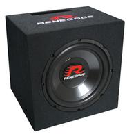 Renegade RXV1200 Auto-Subwoofer (Schwarz)