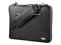 HP 14 Black Slim Brief Case (Schwarz)