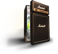 Marshall FRIDGE Kombi-Kühlschrank (Schwarz)