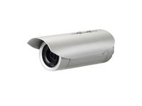 LevelOne Fixed Network Camera, 3-Megapixel, Outdoor, PoE 802.3af, Day & Night, IR LEDs, WDR (Silber)
