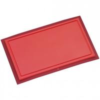 WMF 18 7950 5100 Küchen-Schneidebrett (Rot)