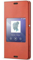 Sony 1287-5819 Handy-Schutzhülle (Orange)