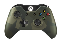 Microsoft Xbox One Armed Forces Camouflage Wireless Controller (Camouflage)