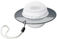 Bigben Interactive BT08BC Mono 3W Sphärisch Weiß Tragbarer Lautsprecher (Weiß)