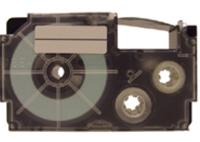 Casio XR-18WE1 Label Etikette (Schwarz auf weiss)
